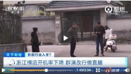 """迪丽热巴8个月没戏拍背后,横店影视基地开机率""""暴跌""""45%"""