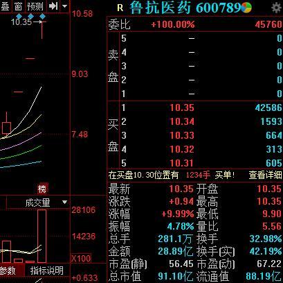 <em>鲁抗医药</em>三连板提示多项风险,一机构出货逾四千万