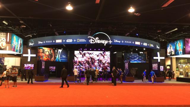 现场直击 | 迪士尼乐园宣布扩建计划,流媒体平台将上线